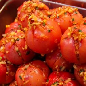 トマトキムチ正方形